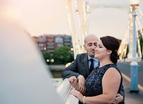 Sneak peek / Isabela & Joses beautiful Albert Bridge couples shoot