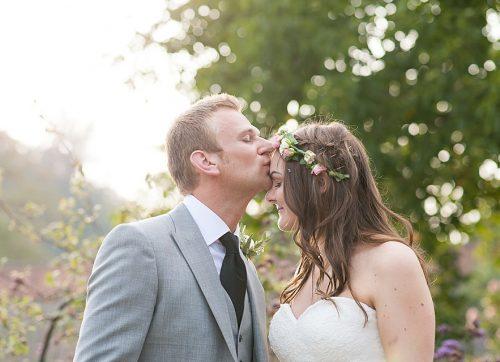 West Sussex wedding photographer - pretty garden wedding at The Walled Garden at Cowdray
