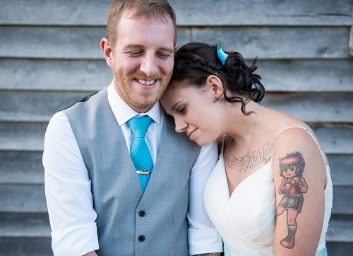West Sussex wedding photographer /  Laid back rustic Ratsbury Barn wedding