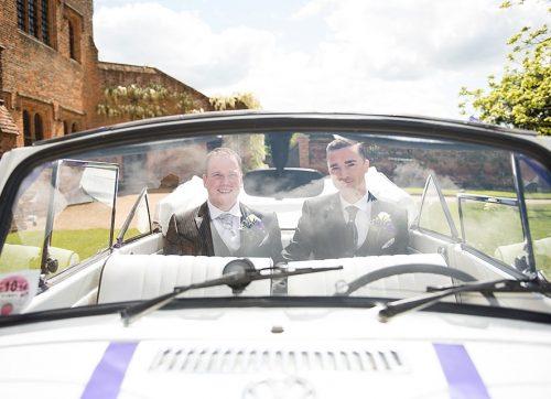 Hertfordshire wedding photographer / Warren & Andy's wedding at Hatfield House