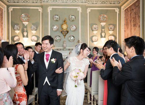 Kent Wedding Photographer / elegant wedding at Leeds Castle