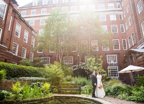London Wedding Photographer- Chic London wedding at BMA House