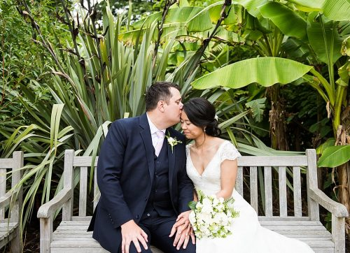 Japan meets New Zealand for this gorgeous Horniman Museum wedding