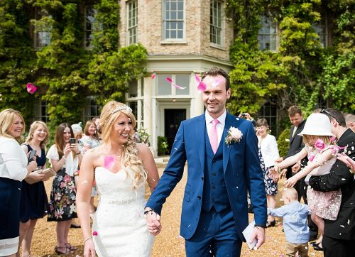 A pretty pastel & pink outdoor wedding narborough hall
