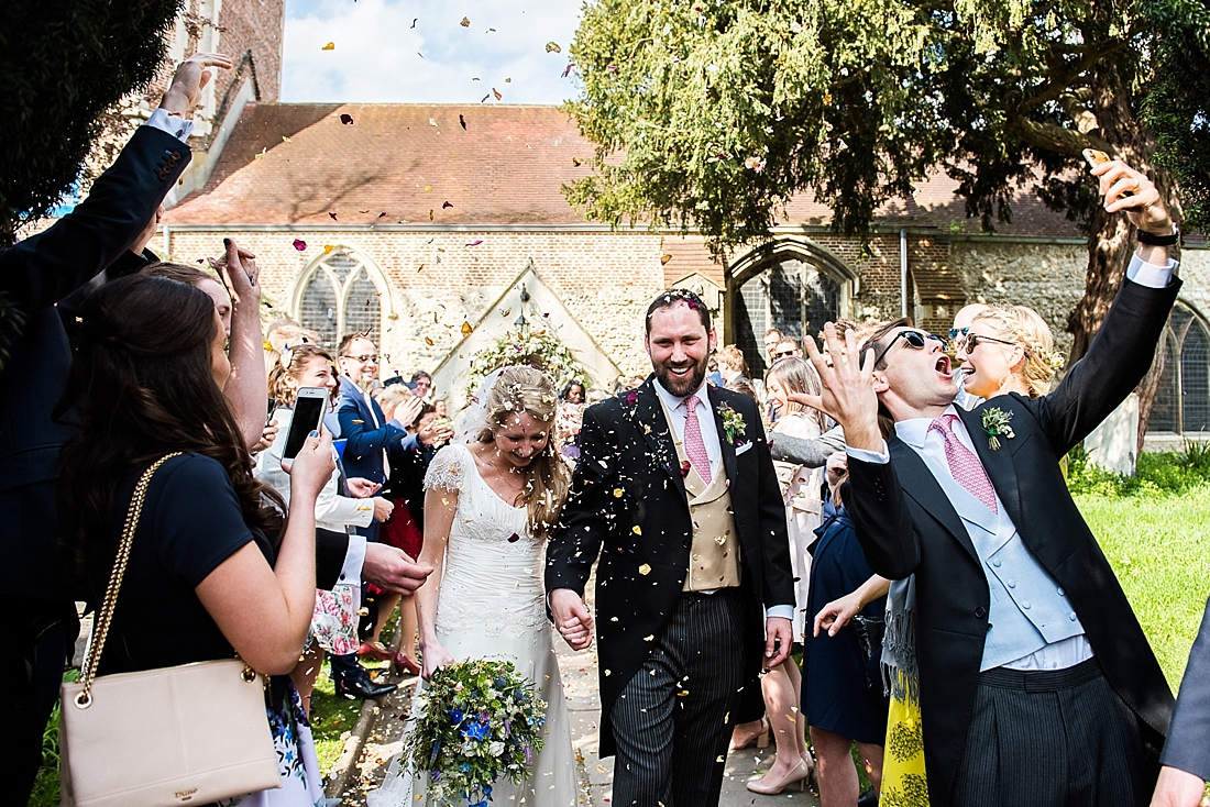 Romantic Spring time wedding at Thames Rowing Club & St Mary's Church – Charlotte & Alex