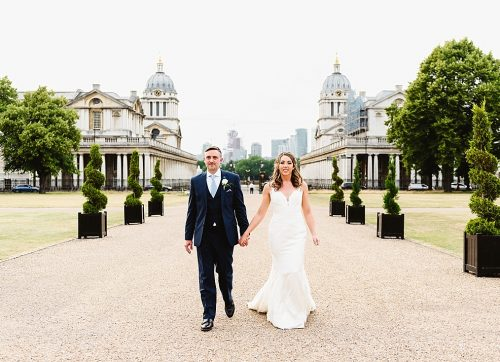 Ashlea & Sam's elegant Summer wedding at Queen's House