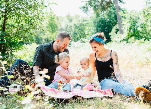Relaxed family photography and countryside adventure