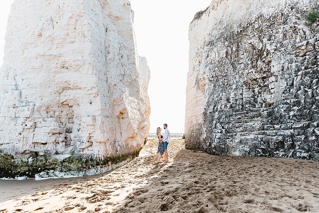 Botany Bay beach engagement