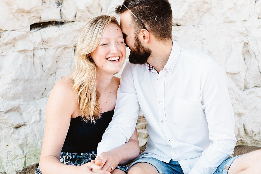 Laughing couple Kent
