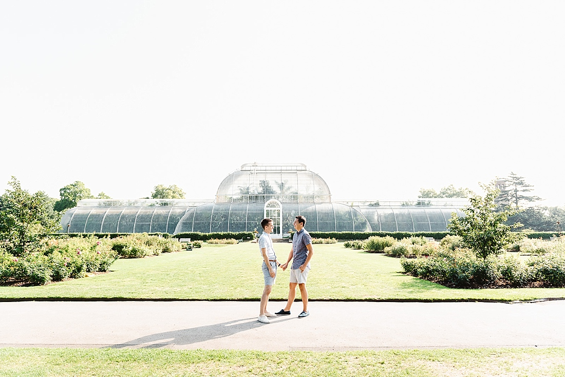 London engagement photography Kew Gardens