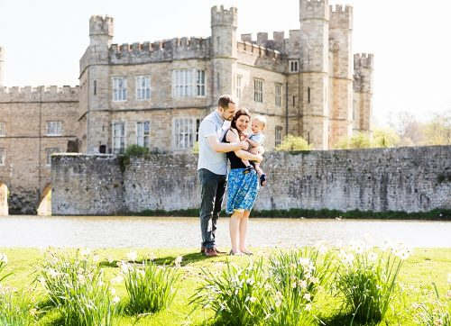Kent Family Photography - Leeds Castle family photo shoot