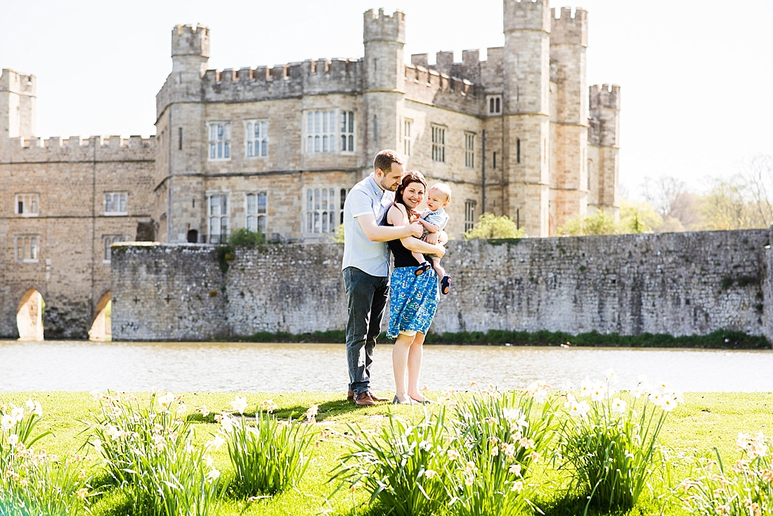 Kent Family Photography - Leeds Castle family photo shoot