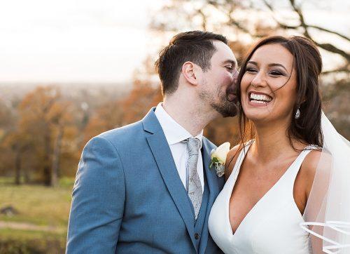 Sparkly Winter wedding at Pembroke Lodge - Georgia & Andrew