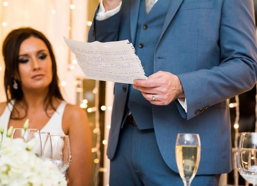wedding photography top tips / get the best out of your wedding photos during the speeches