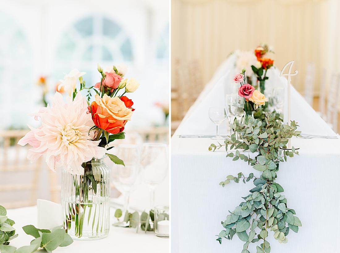 orange wedding flowers what is a wedding coordinator