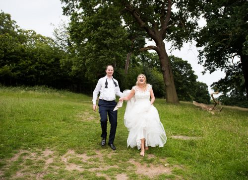 Richmond wedding photographer / sunflowers & sunshine for this Pembroke Lodge wedding