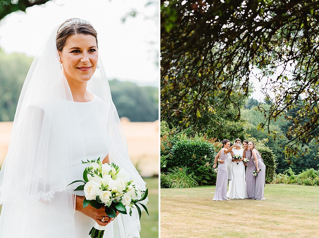 Elegant Surrey bride
