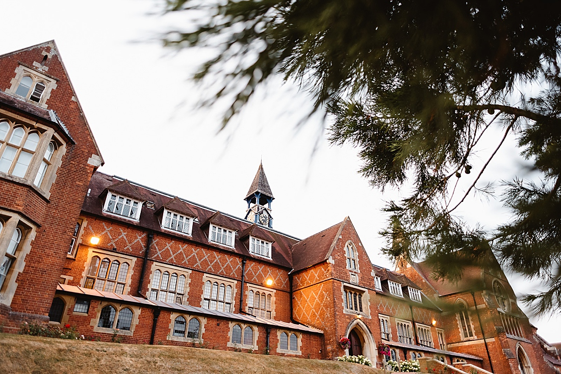 Cranleigh School outside