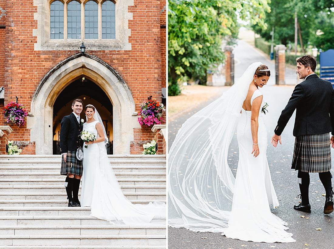 Elegant Surrey wedding photography Fiona Kelly Photography
