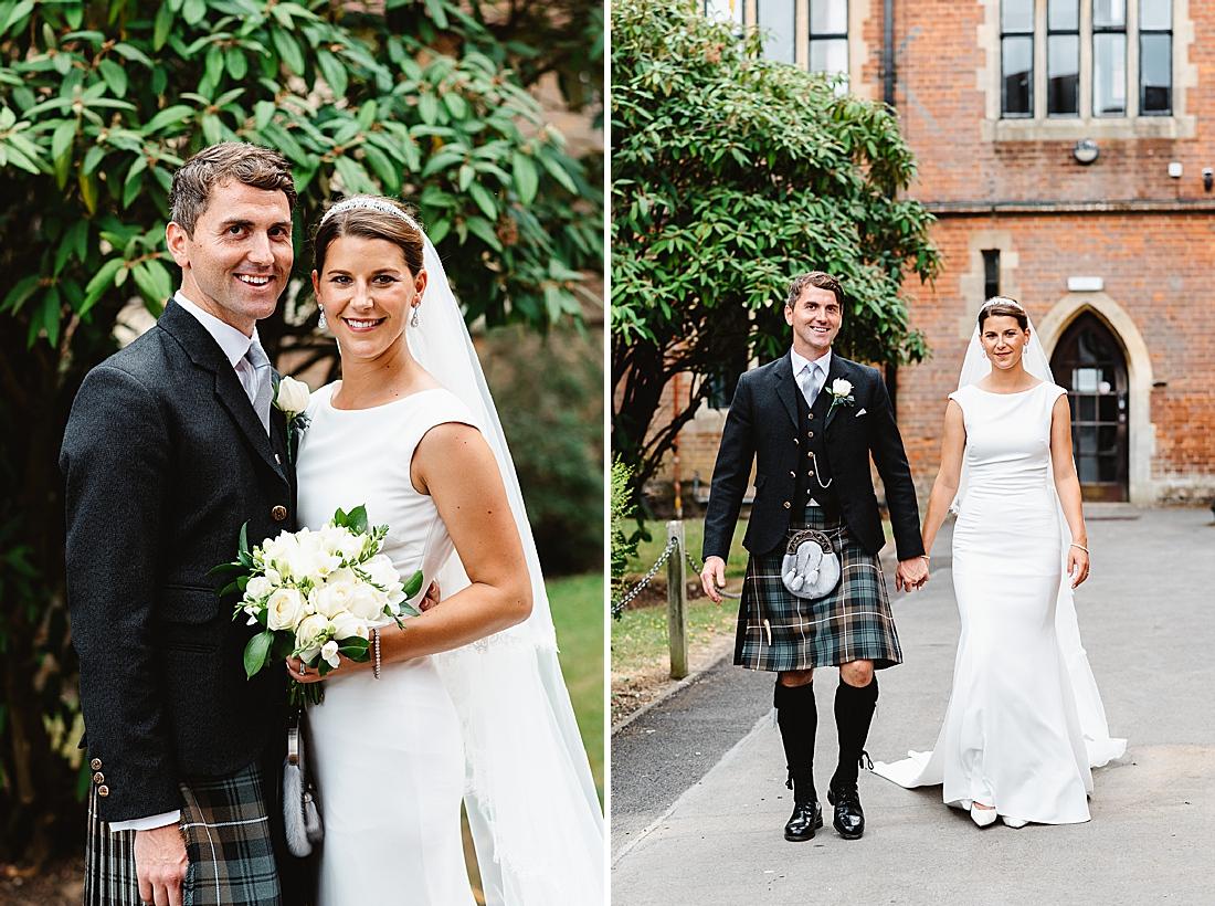 Scottish wedding in Surrey Fiona Kelly Photography