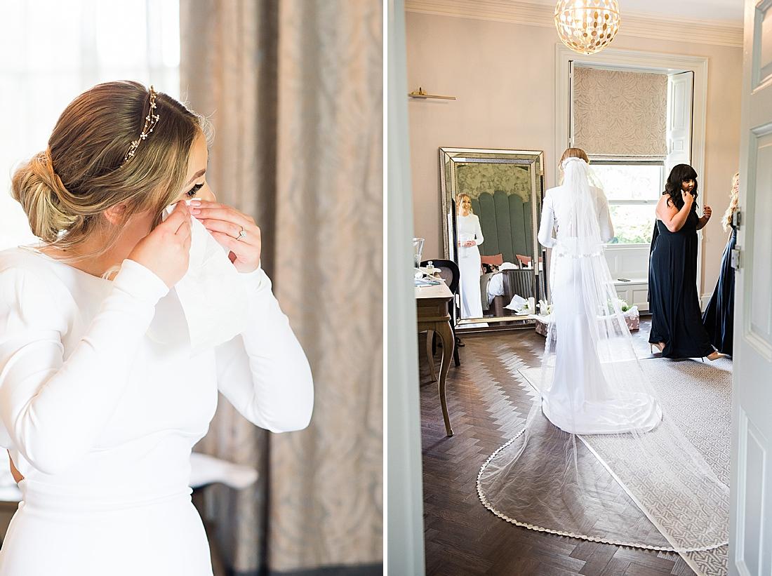 stella mccartney bride cathedral veil yorkshire