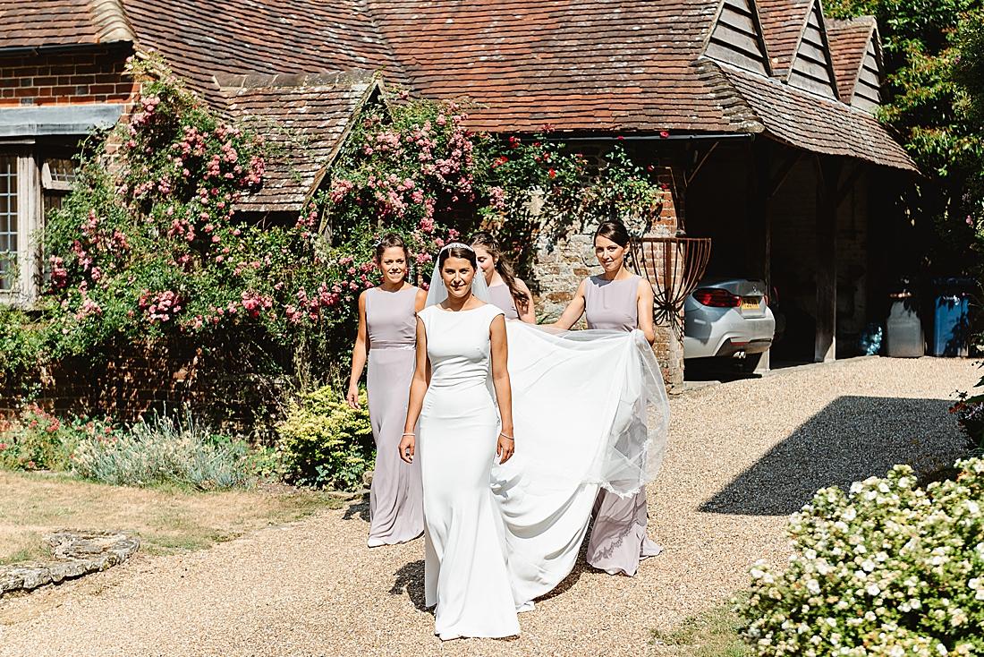 Modern Surrey wedding photography