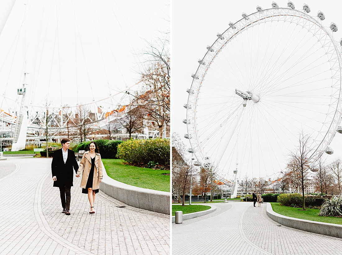 London Eye engagement shoot