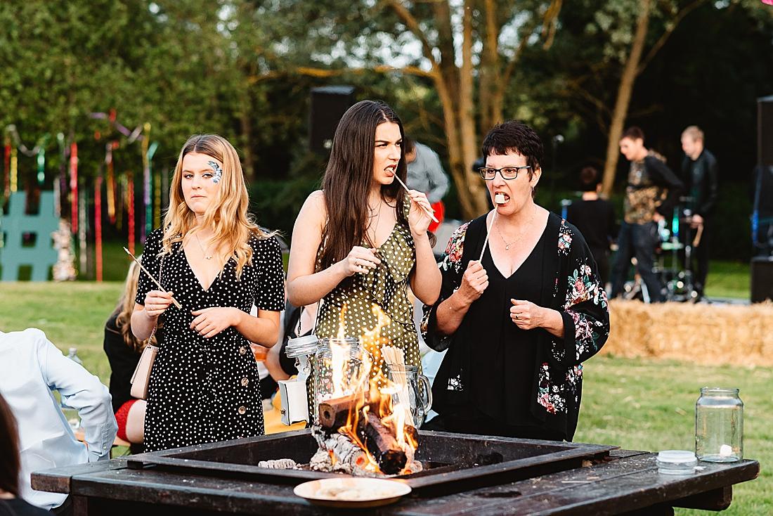 toasted marshmallows festival wedding Hertfordshire