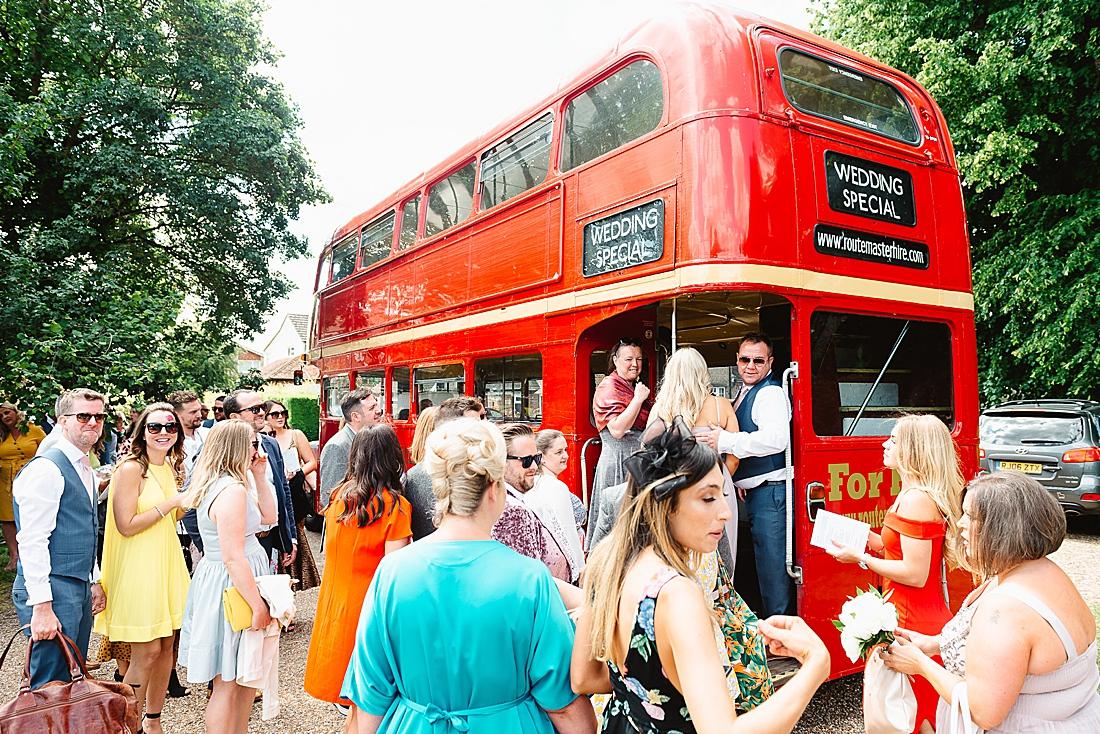 wedding bus Hertfordshire