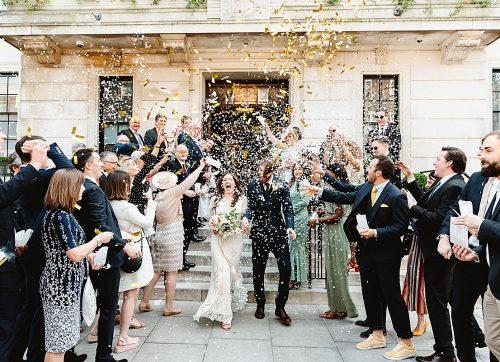 London Wedding Photography - A very stylish Town Hall Hotel wedding - Sarah & Andy