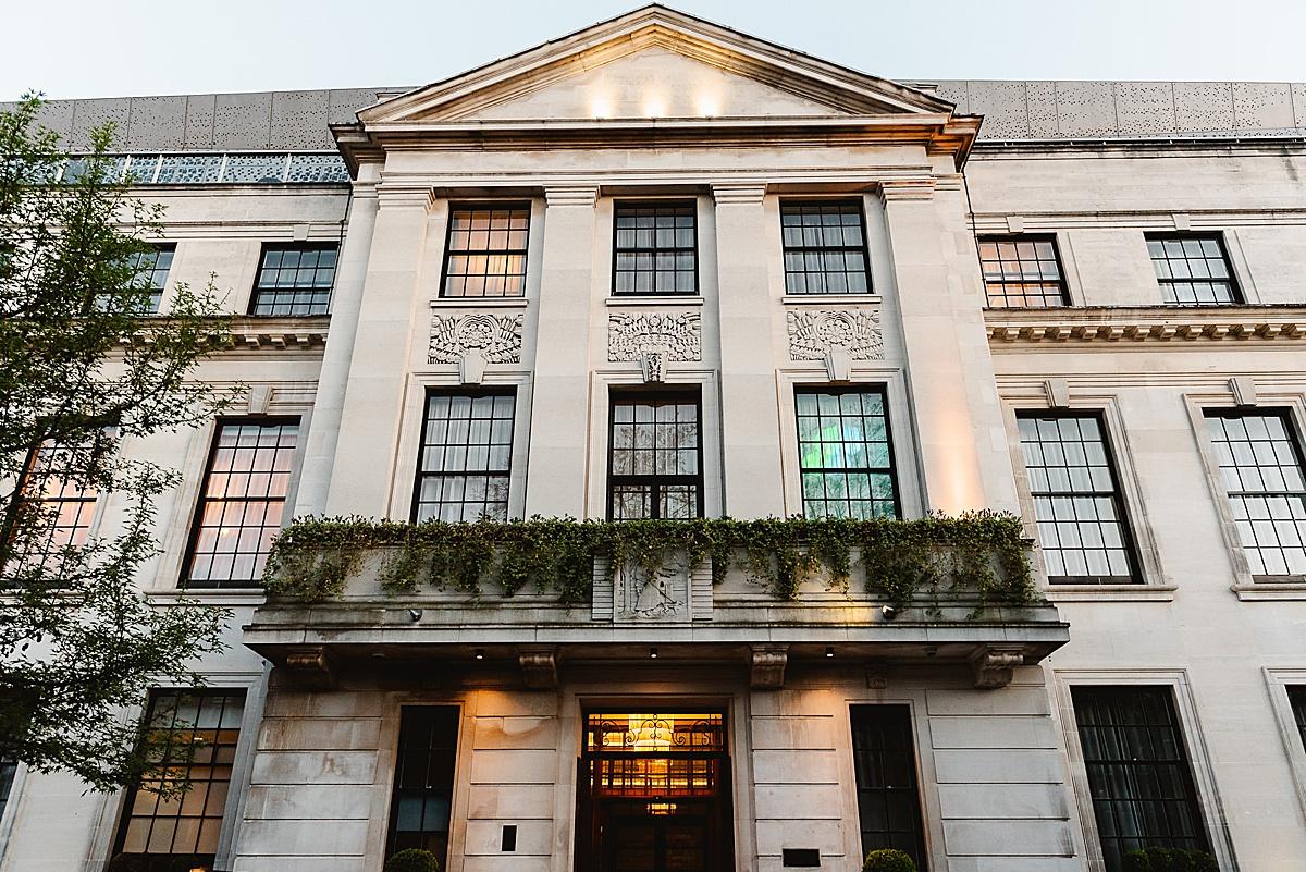 Town Hall Hotel London wedding venue
