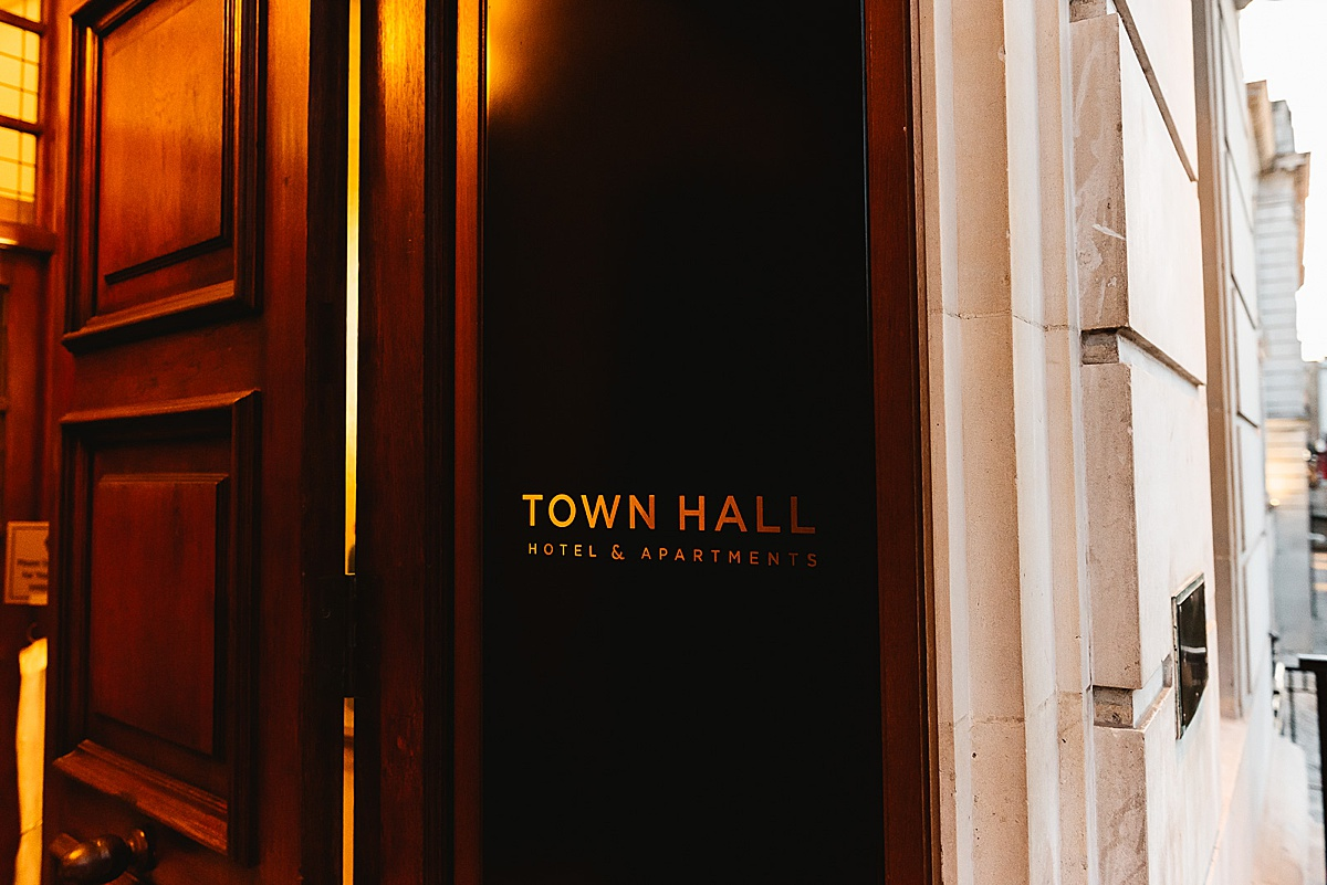 Town Hall Hotel London wedding photography