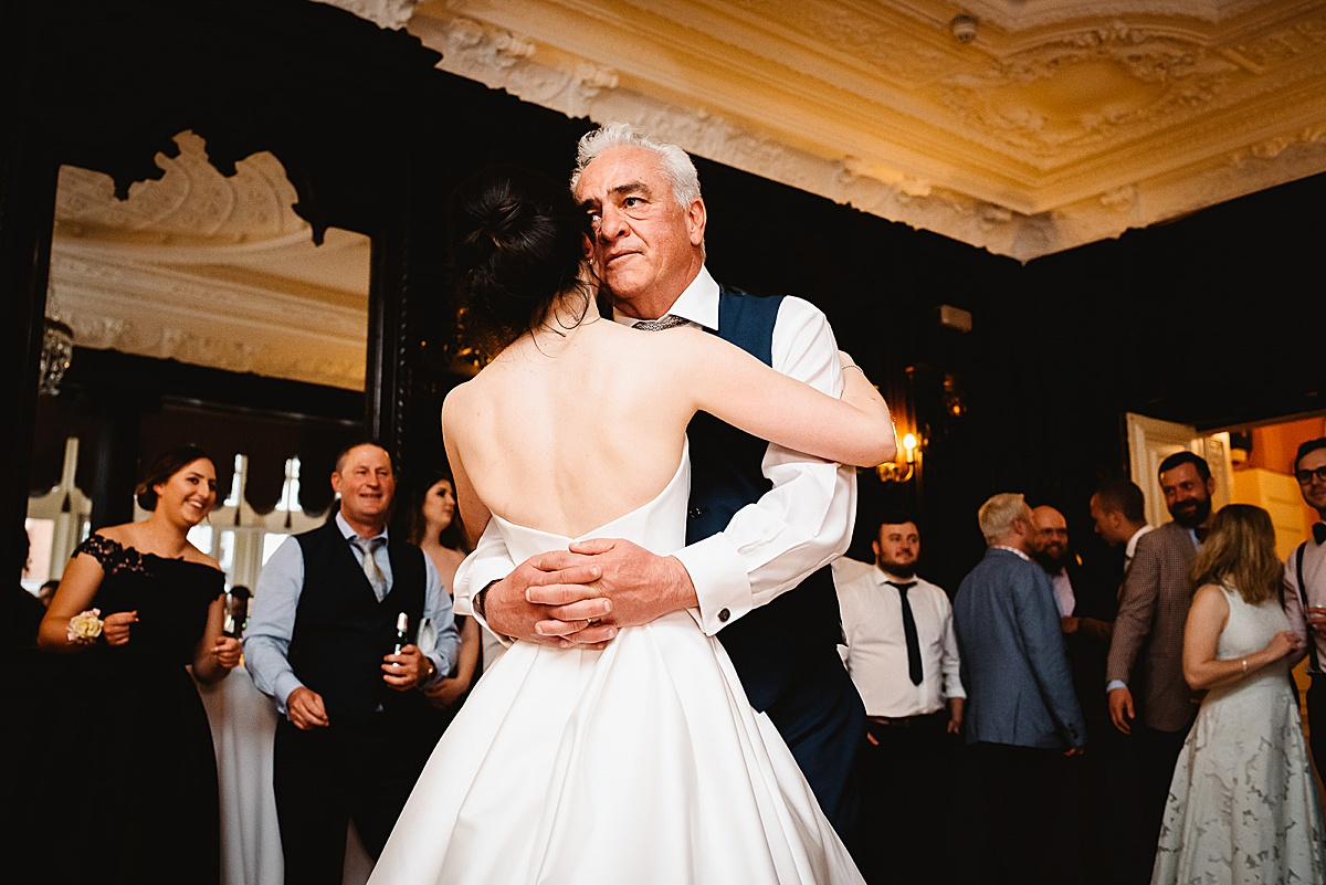 Dartmouth House wedding father and daughter first dance