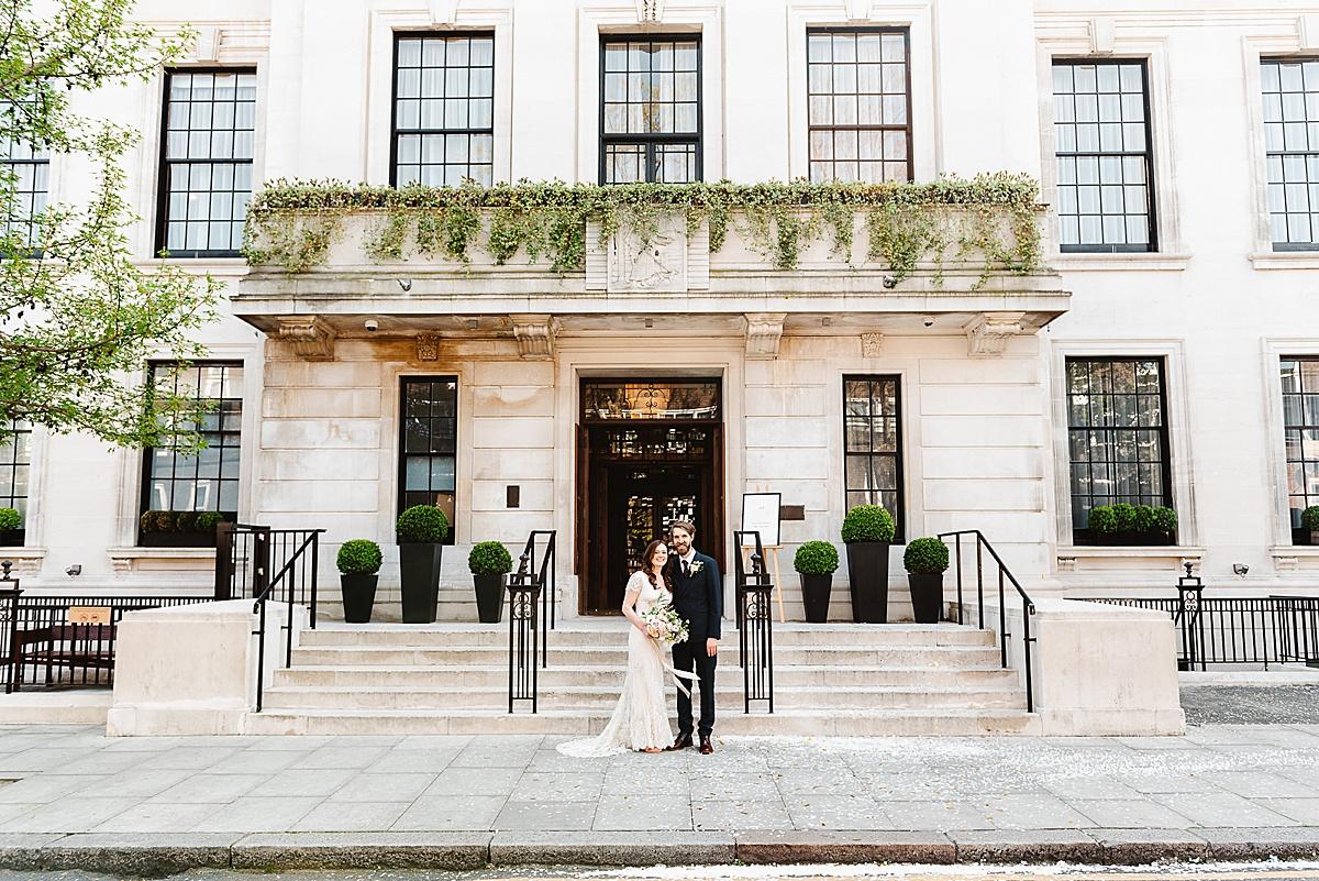 Town Hall Hotel wedding London
