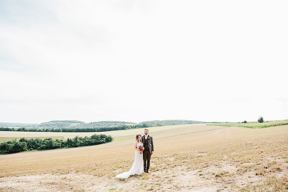 sussex wedding portrait outdoors