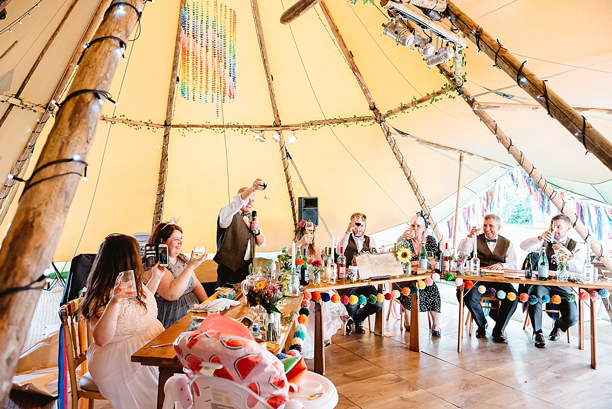 tipi west sussex wedding photography