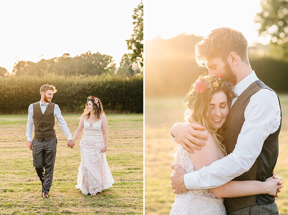 romantic west sussex wedding photography