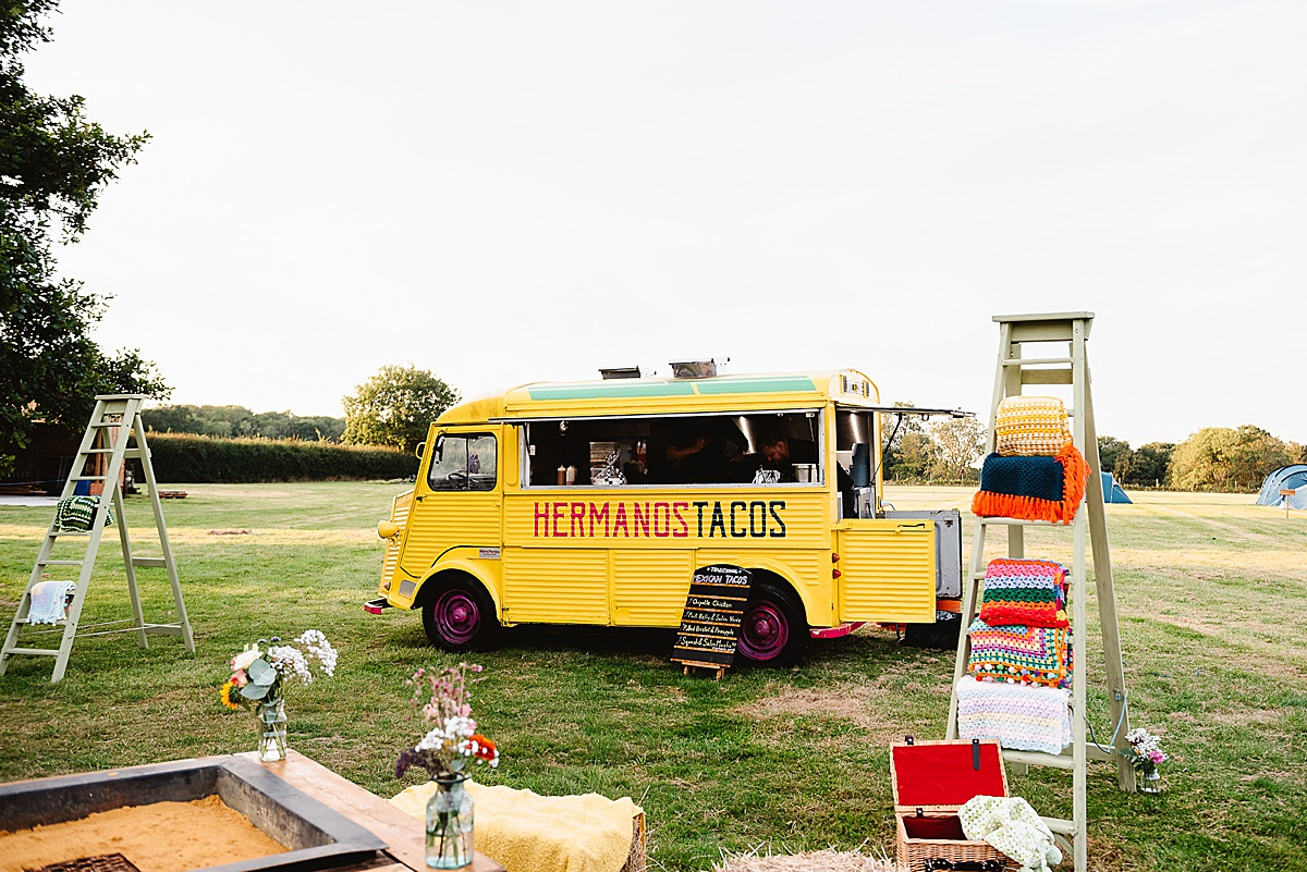 tacos van west sussex wedding photography
