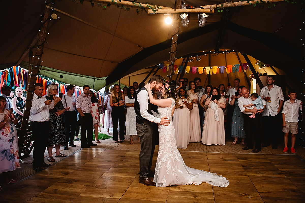 tipi wedding in sussex